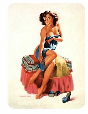 Vintage Style Pin Up Girl Sticker P99 Pinup Girl Sticker