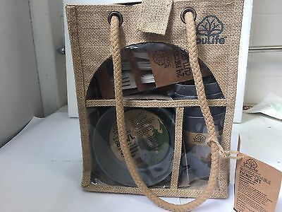 Eco Soulife Picnic Set 4 each piece Environmentally friendly & biodegradable
