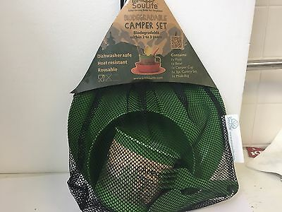EcoSoulife Camper Set Environmentally friendly & biodegradable