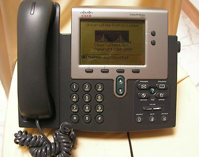Lot of 5 Cisco 7940 Series Unified IP VoIP Phone Telephone Handset CP-7940G