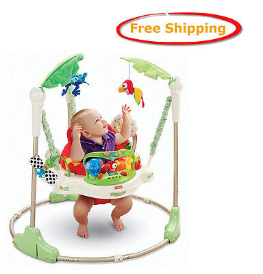 Fisher Price Rainforest Jumperoo Brand NEW Baby Jumper Activity  Center Seat Toy