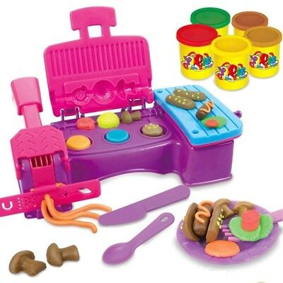 [NEW] Polymer Child Toy Play Dough Modeling Clay Tools Set Creativity Making Cla