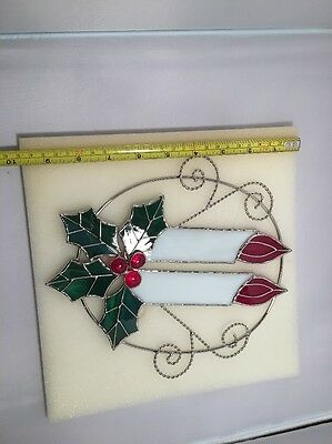 suncatcher stained glass Candles