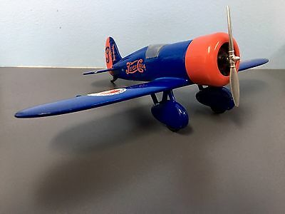 Pepsi Cola Airplane Bank 1:32 Travel Mystery Die Cast Bank