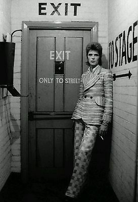 "David Bowie English Singer ""To Stage"" Poster Vintage Art Print 13×20 24×36"" Free"