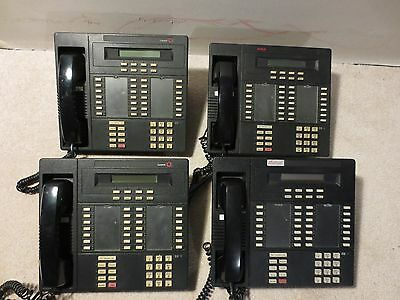 Lot Of 4 Lucent & Avaya MLX-28D Business Office Telephones Working