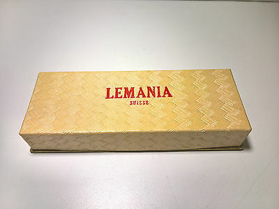 Ultra Rare Vintage Lemania Military Chronograph Watch Box