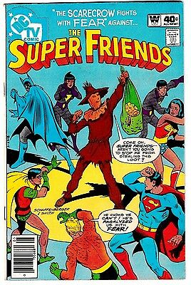 SUPER FRIENDS #32 (FN) Whitman Variant! WONDER WOMAN! BATMAN! TV Cartoon DC 1980