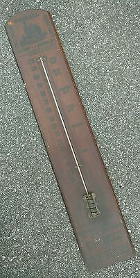 Rare 1880's Steam Tractor Thermometer Sign Early Not Deere Case