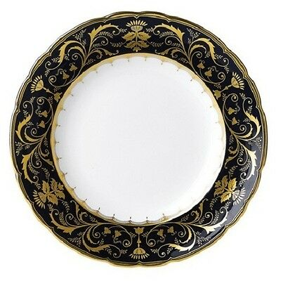 """New Royal Crown Derby 2nd Quality Pemberly Accent 8"""" Plate"""