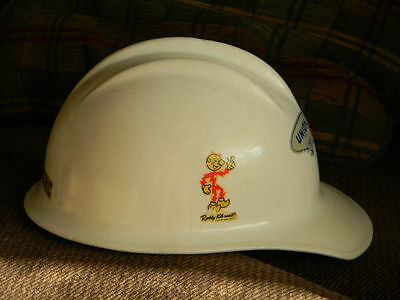 Vintage Reddy Kilowatt Union Electric Advertising 1964 Hard Hat