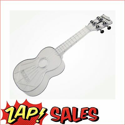 Kala Makala Soprano Waterman Ukulele - Transparent