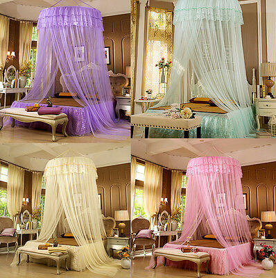 Kids Girls Princess Bed Canopy Insect Mosquito Nets Play Tents Hanging Bedcover