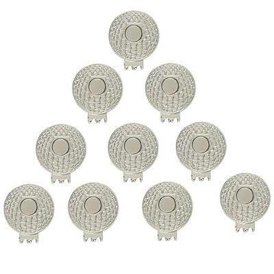 Magnetic Golf Hat Clips(10 Cat Clips!!!)-Hold any Golf Ball Marker