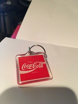 Coca-Cola Square Key Chain,