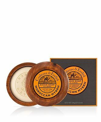 Crabtree & Evelyn Moroccan Myrrh Shave Soap in a Bowl 100g