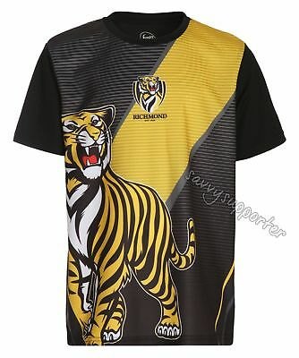 Richmond Tigers 2017 AFL Sublimated Training Shirt 'Select Size' S-3XL