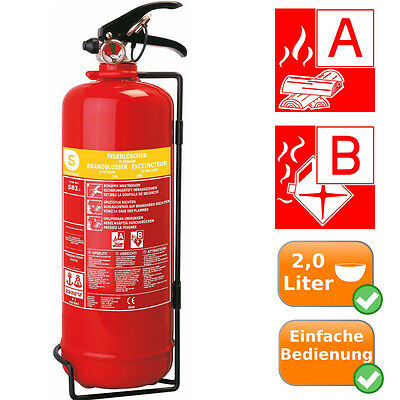 Fire 2L Product Extinguisher the deletion of burning Solids / Liquids