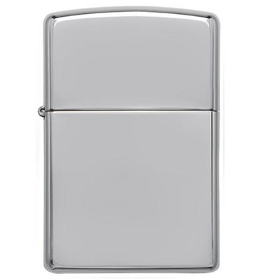 zippo lighter 250 Classic High Polish Chrome / Genuine
