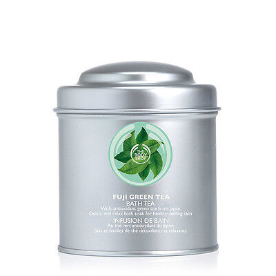 Body Shop ◈ FUJI GREEN TEA™ ◈ Bath Tea 300ml ◈ Soak Stress Away ◈ Revive Mind