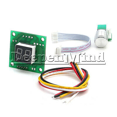DC 6-28V Motor Speed Control Controller PWM Adjust Speed Switch Digital Display