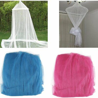 Kids Baby Bedding Round Dome Bed Canopy Netting Bedcover Mosquito Net Curtain NW