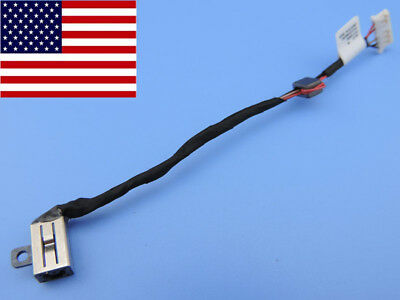 DC Power Jack cable Dell Inspiron 15 5566 i5566 P51F P51F001 DC30100UH00 Socket