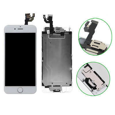 White iPhone6 4.7'' Touch Screen Digitizer Replacement with Camera &Home Button