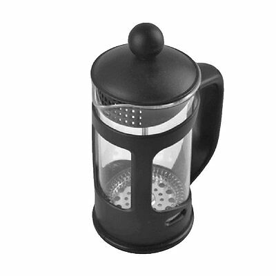 350ML Black Coffee Plunger Press French Filter Cafe Maker Cup Classic Glass