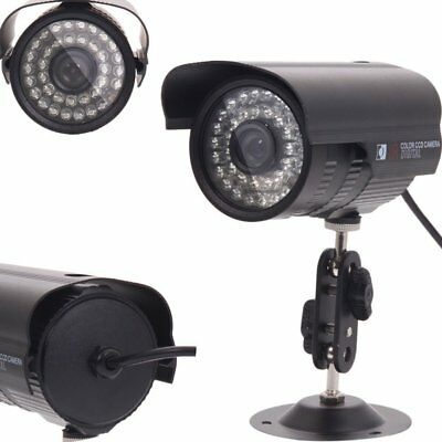 1200TVL HD Color Outdoor CCTV Surveillance Security Camera 36IR Day Night Vision