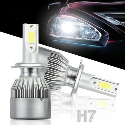H7 110W 20000LM LED Headlight Conversion Kit Car Beam Bulbs Driving Lamps