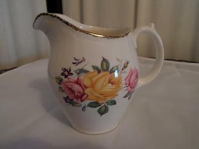 "Ridgway Potteries Ltd  ""Chateau Rose "" Creamer Staffordshire England..MK."