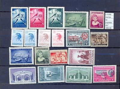 Stamps Lot Yugoslavia Mh*  (L15368A)