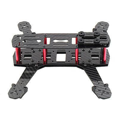 250mm Mini Multicopter Quadcopter Racing Drone Glassy Carbon Frame Kit M9P6