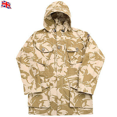 British Army Desert Patten Dpm Windproof Hooded Jacket/smock Brand New