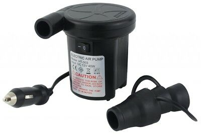 Electric Air Inflator Airbed Pump With a Car Charger / 44 Watts / 300 litre per
