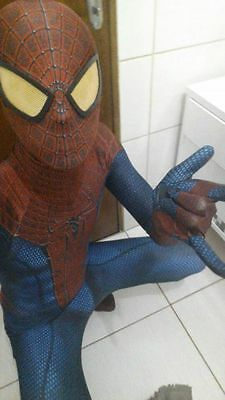 Marvel The Amazing Spiderman Costume adult Spandex Fullbody Zentai Suit New