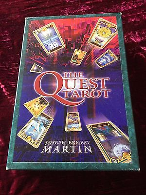 UNUSED - The Quest Tarot (by Joseph Ernest Martin) - rare, out of print