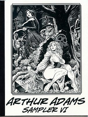 Arthur Adams Sampler VI  Fine Condition Signed by the Artist