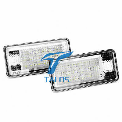 LED Licence Number Plate Light AUDI A4 8H7,B6,8HE,B7 Convertible 04.2002-03.2009