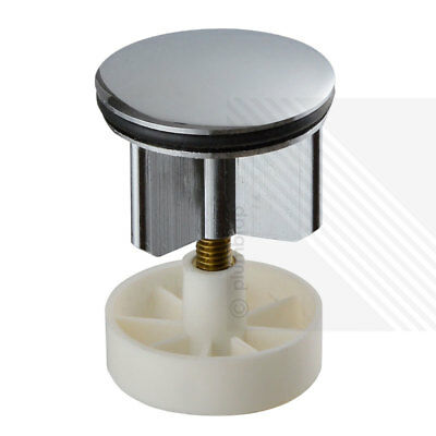 Replacement Bathroom Basin POP-UP Plug Sink Waste in Chrome Plated Metal