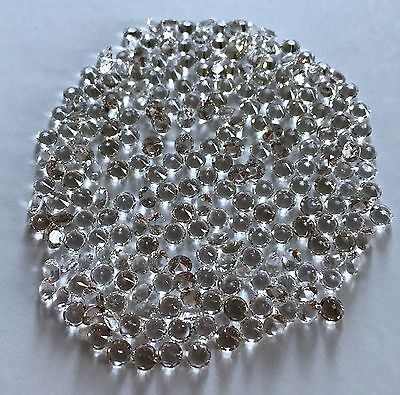WHOLESALE 4mm .25 Carat Genuine Faceted Herkimer Diamond from NY - AAA in BULK