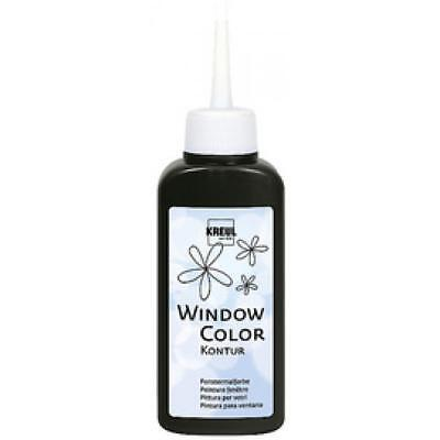 KREUL Window Color Konturenfarbe, farblos, 80 ml (42776) (4000798427764)