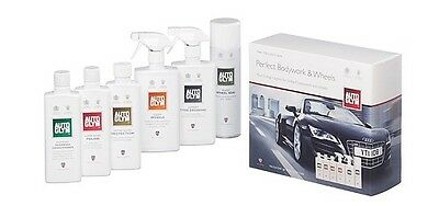 Autoglym Perfect Bodywork & Wheels Car Cleaning Valeting Collection Set Pack