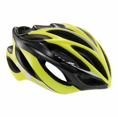 MET Inferno Ultima Lite Rennrad Helm - Black / Safety Yellow