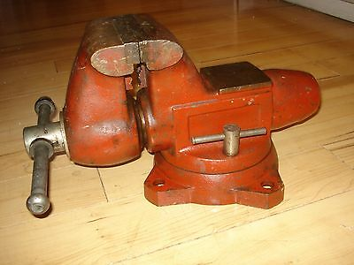 "vintage WILTON # 1760 BULLET VISE - 6"" jaws - GOOD WORKING ORDER - PRICED 2 SELL"