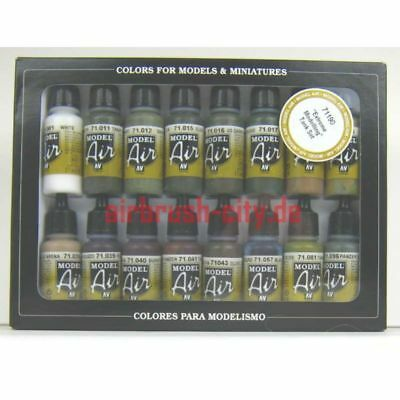 (150,81€/1l) Model Air,  Panzer Farben Set 100 507 Airbrush Farbe