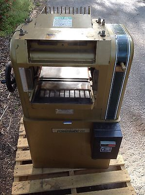 Powermatic 100 Planer 1Ph 3 Hp