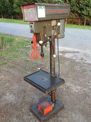 Powermatic 1150 Drill Press With Foot Switch