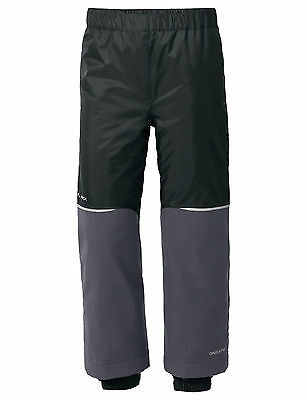 Vaude Kinder Winter Hose Escape Padded Pants II, schwarz, Gr: 122 / 128